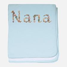 Nana Seashells baby blanket
