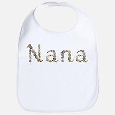 Nana Seashells Bib