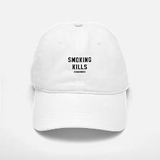Smoking Kills Baseball Baseball Cap
