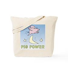 Pig Power Tote Bag
