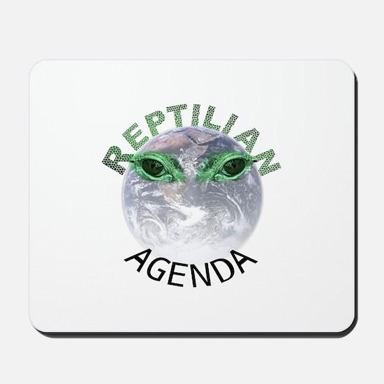 Reptilian Agenda Mousepad
