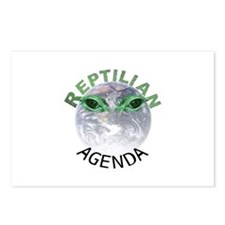 Reptilian Agenda Postcards (Package of 8)