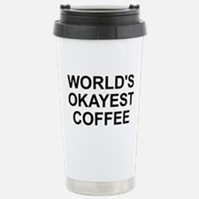 World's Okayest Coffee Stainless Steel Travel Mug
