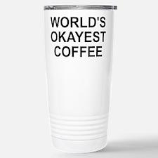 World's Okayest Coffee Travel Mug