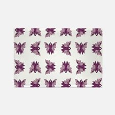 PURPLE RIBBON Rectangle Magnet
