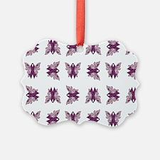 PURPLE RIBBON Ornament