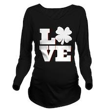 Cute St. patrick's day Long Sleeve Maternity T-Shirt