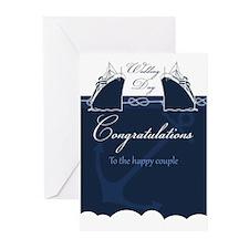 Cruise Ship Wedding Greeting Cards (pk Of 20)