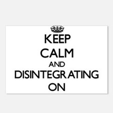 Keep Calm and Disintegrat Postcards (Package of 8)