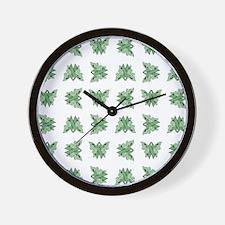 MINT GREEN RIBBON Wall Clock