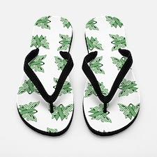 MINT GREEN RIBBON Flip Flops