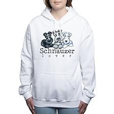Schnauzer Lover 15 Women's Hooded Sweatshirt