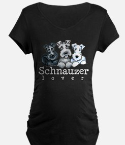 Schnauzer Lover 15 Maternity T-Shirt