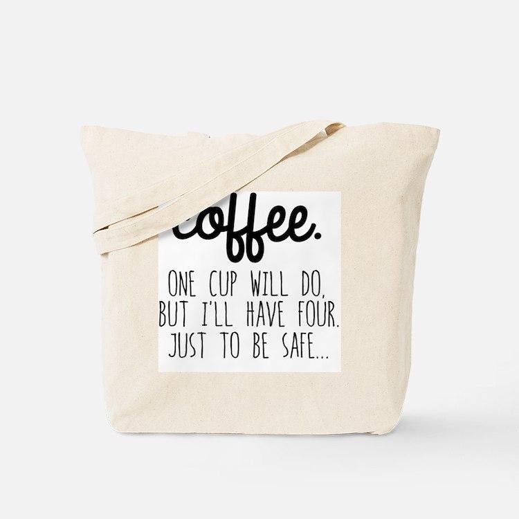 Cute Coffee Tote Bag