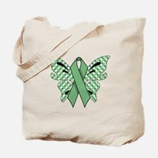 MINT GREEN RIBBON Tote Bag