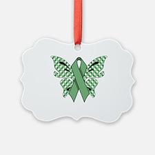 MINT GREEN RIBBON Ornament