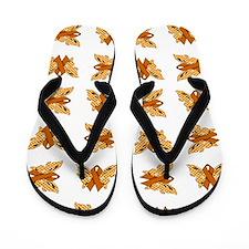 ORANGE RIBBON Flip Flops