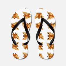 ORANGE RIBBON Flip Flops