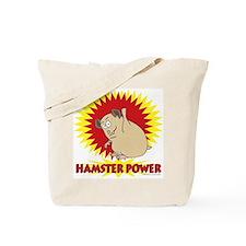 Hamster Power Tote Bag