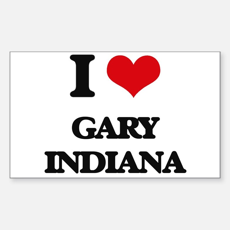 I love Gary Indiana Decal