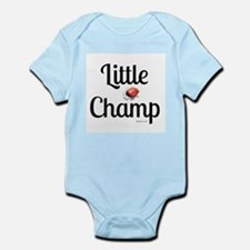 Little Champ Red Glove Body Suit