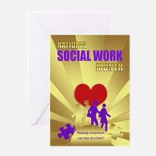 National Social Worker Month Card Greeting Cards
