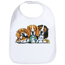 3 Beagles Bib