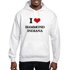 I love Hammond Indiana Hoodie