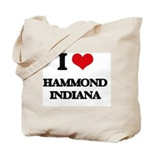 I love Hammond Indiana Tote Bag