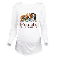 Beagle Lover Long Sleeve Maternity T-Shirt