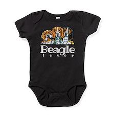 Beagle Lover Baby Bodysuit