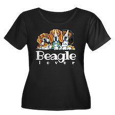 Beagle Lover Plus Size T-Shirt