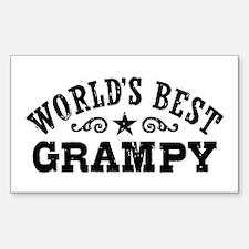 World's Best Grampy Decal