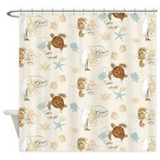 Cute Turtle homes Shower Curtain