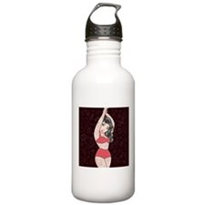 Pin Up Tattooed Girl Water Bottle