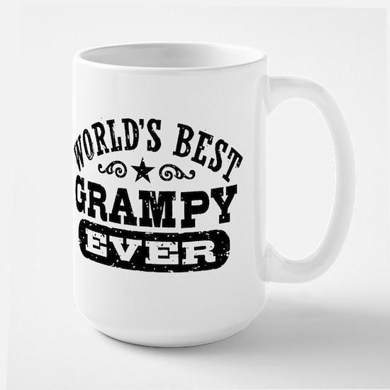 World's Best Grampy Ever Large Mug
