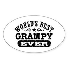 World's Best Grampy Ever Decal
