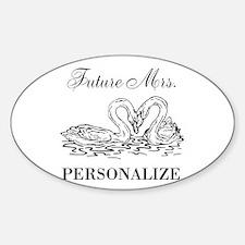 Future Mrs wedding bride Decal