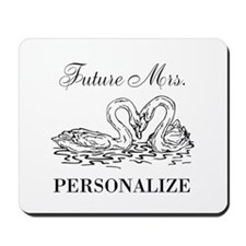 Future Mrs wedding bride Mousepad
