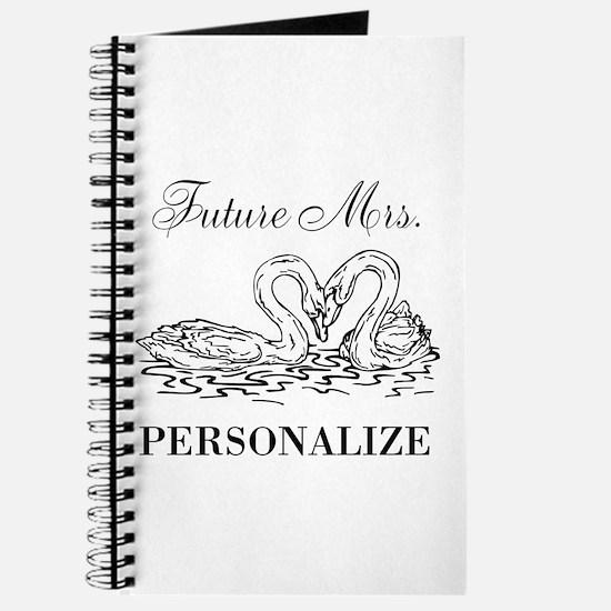Future Mrs wedding bride Journal