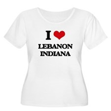 I love Lebanon Indiana Plus Size T-Shirt