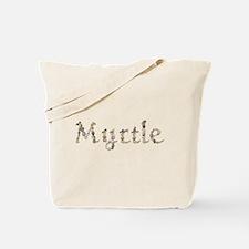Myrtle Seashells Tote Bag