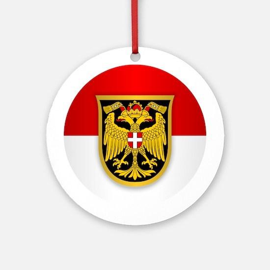 Vienna Ornament (Round)
