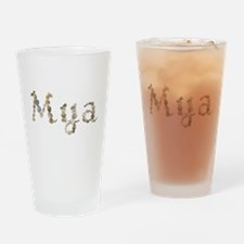 Mya Seashells Drinking Glass