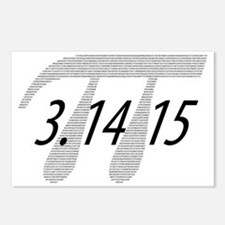Pi Postcards (Package of 8)