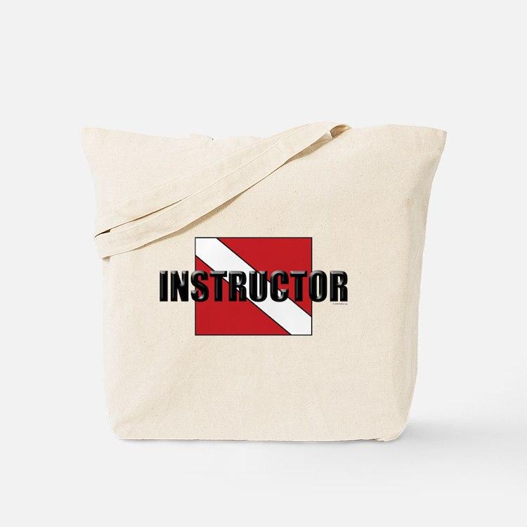 Cute Scuba instructor Tote Bag