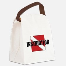 Cute Instructor Canvas Lunch Bag