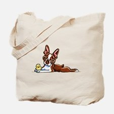 Colored Boston Tote Bag