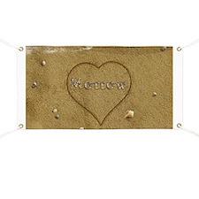 Morrow Beach Love Banner