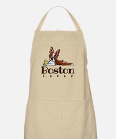 Colored Boston Lover Apron